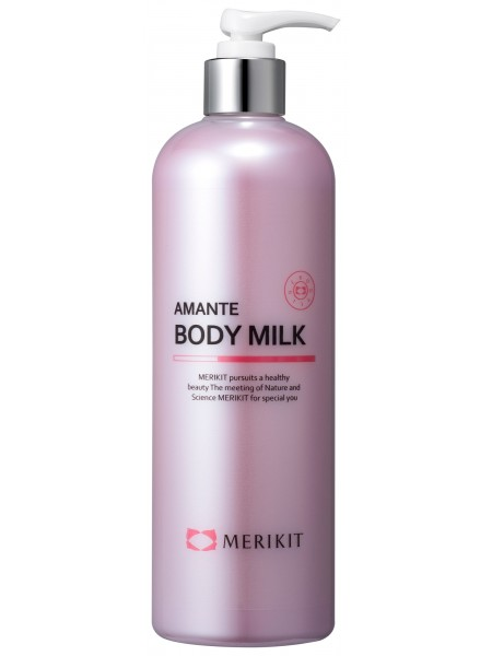 Увлажняющее молочко для тела - Merikit  Amante Body Milk