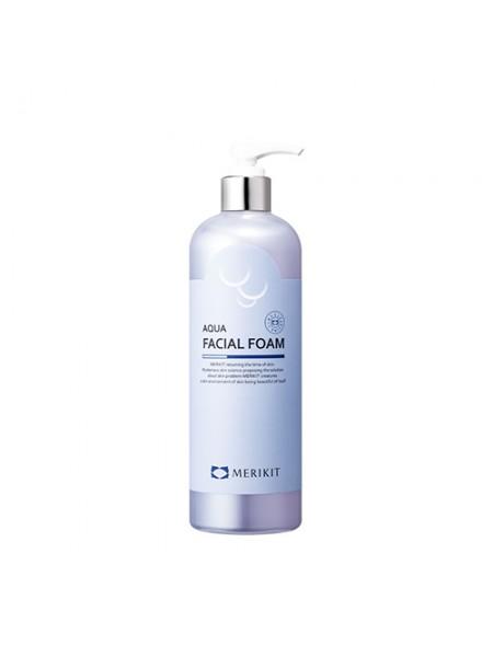 Мягкая пенка для умывания - Merikit Aqua Facial Foam