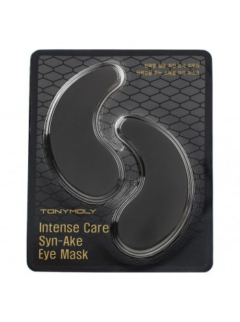 Tony Moly Intense Care Syn-Ake Eye Mask - Одноразовая маска-патчи со «змеиным» пептидом для кожи под глазами
