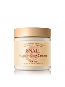 Крем для лица с муцином улитки - Ronas Snail Repair Bling Cream