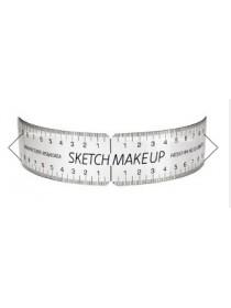 Прозрачная линейка Sketch Make Up для татуажа